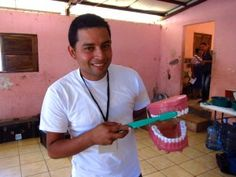 #Mission Trip to Managua, Nicaragua - Henry Schein Cares provided dental supplies such as toothbrushes, toothpaste, fluoride varnish and floss, which were used on all of the patients.