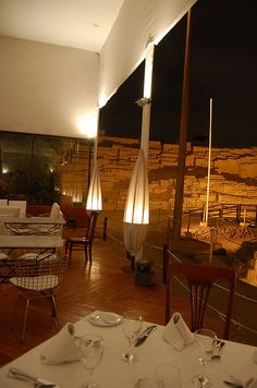 Huaca Pucllana Restaurant, Miraflores, Peru