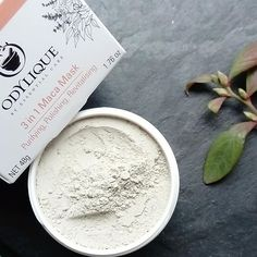 NEW to Odylique: 3 in 1 Maca Mask! Packed with organic baobab, maca and a beautiful blend of mineral clay, why not purify, polish and revitalise your skin with our new face mask? Organic AND Fairtrade, it's suitable for all skin types! 🌱 Shop the