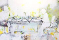 "Saatchi Art Artist Mona Hoel; Painting, ""Alone Together (IX)"" #art"