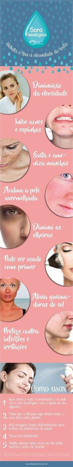 O soro fisiológico é um aliado para quem tem a pele oleosa! Além de diminuir a dilatação dos poros, ele elimina a acne a ainda hidrata, deixando a pele do rosto sem brilho e com uma fantástica sensação de macies.…