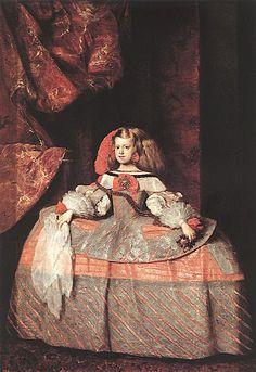 Diego Rodríguez de Silva Velázquez  Margarita de Austria.