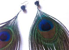 Peacock Earrings <3