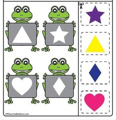1 million+ Stunning Free Images to Use Anywhere Frog Theme Preschool, Shape Worksheets For Preschool, Flashcards For Kids, Preschool Lesson Plans, Arts And Crafts For Kids Toddlers, Art Activities For Toddlers, Preschool Learning Activities, Learning Shapes, Book Projects