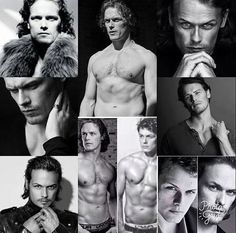 Image may contain: 10 people Sam Hueghan, Sam And Cait, Serie Outlander, Sam Heughan Outlander, Jaime Fraser, Raining Men, Book Boyfriends, Gorgeous Men, Hot Guys