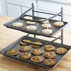 30 Kitchen Gadgets ~ to Make Your Life Easier! ...e.g. 4-tiered baker's rack