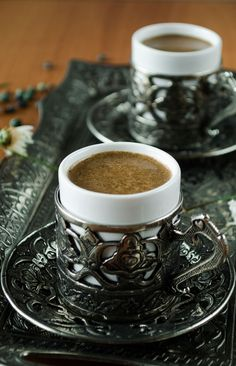 Dat zijn nog eens espresso kopjes! #koffie