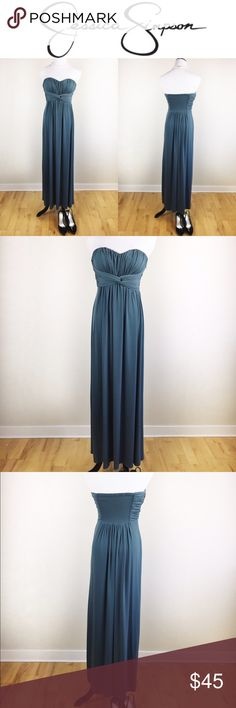 JESSICA SIMPSON TEAL GOWN DRESS FOR PROM /WEDDING Gorgeous Jessica Simpson Teal Gown, perfect for prom or a wedding! Size 2, worn once! No signs or use, peeling, holes or stains! If you want to dress to impress this is it! ❤️💖 love it? Make an offer! Questions? Ask me 😉☀️🌺 Jessica Simpson Dresses