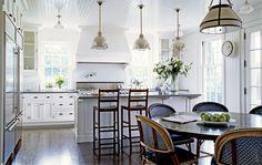 Victoria Hagan - kitchen in Nantucket