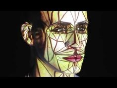 Human Face Video Mapping by Oskar & Gaspar - YouTube