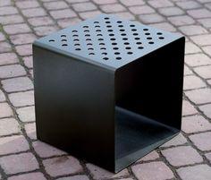 radium-mmcité-Radek Hegmon-David Karásek Rooftop Deck, Stool Chair, Livingston, Design, David, Home Decor, Stool, Chair, Decoration Home