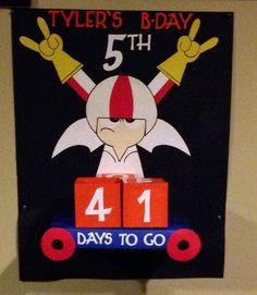 Kick Buttowski Birthday countdown