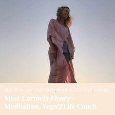 life coach - yin yoga teacher - meditation and vision boarding leader