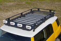 ARB FJ Cruiser Roof Rack (Full Length) with Fit Kit [3800040 & 3720100] - $933.45 : Pure FJ Cruiser Accessories, Parts and Accessories for your Toyota FJ Cruiser