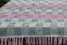 Peilikäs-loimi Weaving Patterns, Loom Weaving, Recycled Fabric, Woven Rug, Recycling, Quilts, Blanket, Crochet, Rag Rugs