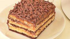"""Tortul """"Ziua și noaptea"""" — un desert simplu, ușor și delicios! - Retete-Usoare.eu Tiramisu, Ethnic Recipes, Food, Meal, Essen, Hoods, Tiramisu Cake, Meals, Eten"""