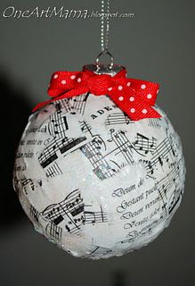 ornaments for wedding favor for upcoming christmas holiday would be pretty cool!