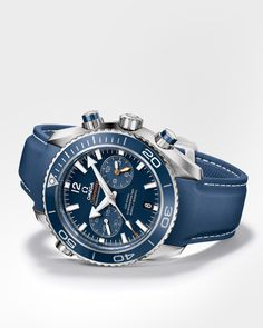 OMEGA Watches: Seamaster Planet Ocean 600 M Omega Co-Axial Chronograph 45.5 mm - Titanium on rubber strap - 232.92.46.51.03.001