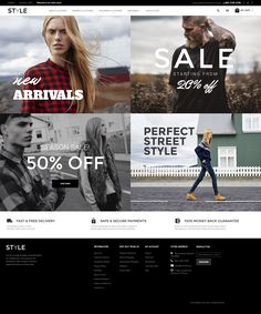Magento Template , Style - Fashion Clothes