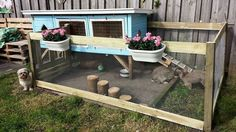Ideas for an outside rabbit hutch
