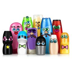 Recycling at it's best. Tub toys made from recycled bottles & waterproof stickers. Too cute!