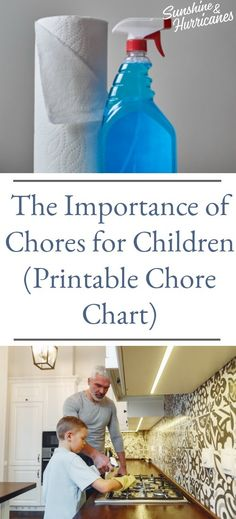 Chores for children are important for so many reasons. They help them learn life skills, responsibility and give them a sense of pride for contributing to their family. Printable Chore Chart included with chores by age. Parenting Articles, Parenting Books, Gentle Parenting, Parenting Teens, Kindergarten Anchor Charts, Printable Chore Chart, Charts For Kids, Parent Resources, Kids Health