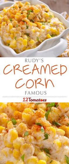 We've got a soft spot for creamed corn and we're not afraid to show it. It's deliciously sweet and rich, all while maintaining a delicious lightness from the pops of the corn kernels. While we love a variety of versions, it's Rudy's creamed corn that gets us every time…so much so, in fact, that we had to try out making it ourselves!