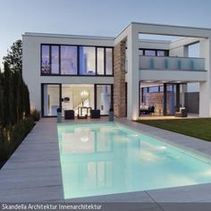 Traumhaus mit pool in deutschland  Häuser bauen | Modern Decor | Pinterest | Architecture and House