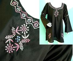 This is a collection of Ethnic Hand embroidery ,Chikan kari of lucknow , on Cotton viscose , Design is all about multi colored taipchie a hand emboridery with a westen cut. giving big women slimmer look . Excellent design for Formal and occasional we
