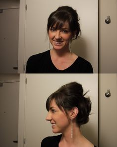 Quick and Easy Updo How To