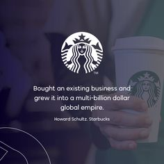 Anyone can sell coffee but it takes ONE to make it legendary. Starbucks was an existing business that needed a little push to get it where it is today. This is YOUR chance to make a difference. No matter where, no matter what, you have the power to change the world. BUY your dream job today! #business #entrepreneur #entrepreneurship #smallbusiness #businessowner #buyandbuild #buyabusiness #franchise #businessforsale #franchiseforsale #SearchBuyandSellaBusiness #betheboss #BuyIt #Starbucks Howard Schultz, Be The Boss, Business Motivation, Business Entrepreneur, Dream Job, Change The World, Entrepreneurship, Starbucks, Dreaming Of You