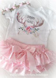 Boho Soul Baby Onesie/Shirt - Baby Boho Shirt - Bohemian Baby - Etsy Boho Baby…