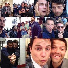 Misha and John <3