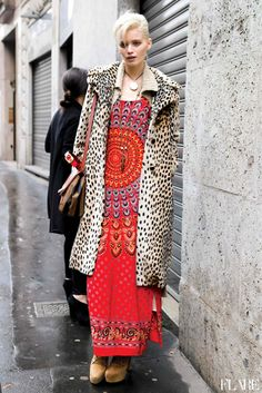 I honestly thought we might see her on the runways this month... after the Gucci campaign and all. sigh. here's a hit anyway. #AbbeyLeeKershaw #offduty