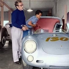 "• Legend vs Legend. Porsche 550 Spider ""Little Bastard"" with James Dean • laclassica.carandvintage.it #CarVintage #jamesdean #littlebastard #art #legendary #ferrari #mercedesbenz #porsche #bmw #bugatti #carporn #vintage #firstpost #first #elegance #lux #luxury #luxurycar #luxurylife #f4f #fashion #cars #londoncars #blacklist #newyork #autoporn #automotive #instacar #follow #cool"
