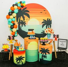 Rasta Party, Panda Birthday Party, Tropical Party Decorations, Circus Wedding, Luau Party, Baby Shower Themes, Party Time, Balloons, Cheetos