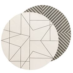 Graphic Rug 100cm, House Doctor
