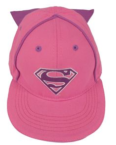 8c6bb76cf28 Supergirl Caped Baseball Cap - Toddler Supergirl hat with an attached cape.  Adjustable Velcro back for perfect fit.