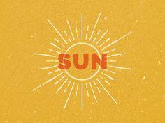 Creative Sun, Logo, Texture, Illustration, and Type image ideas & inspiration on Designspiration Sun Illustration, Illustrations, Branding, Graphic Design Typography, Logo Design, Sunshine Logo, Half Elf, Sun Logo, Sun Designs