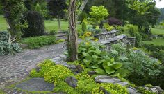 I write about Innisfree in Millbrook, NY in the book, Heaven is a Garden
