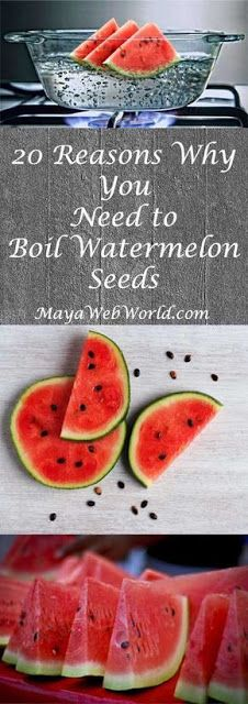 Take Watermelon Seeds And Boil Them: The Results Will Shock You!