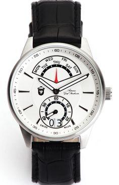 064ced77cda Antonius Graf Strachwitz Retrograde Precious Series White Ropa De Hombre