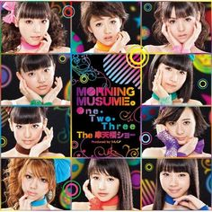 Morning Musume 50th Single 「One・Two・Three/The摩天楼ショー」(Limited Edition E Cover)