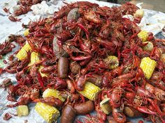 Crawfish Boil at Cooking Channel
