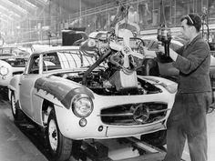 MERCEDES BENZ GERMANY  FACTORY