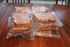 Make a big batch of PB&J sandwiches in advance and freeze them.