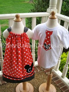 disney-inspired pillowcase dress and tie...for disney cruise??