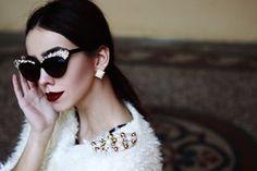 Glam style / na paničku Glam Style, Cat Eye Sunglasses, Fashion, Moda, Fashion Styles, Fashion Illustrations