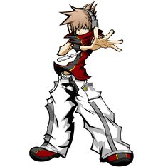 Sora The World Ends With You  style by danieldupre