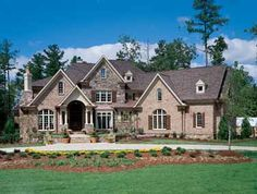 Beauty in the Details (HWBDO11410) | New American House Plan from BuilderHousePlans.com | Three full floors of comfort!